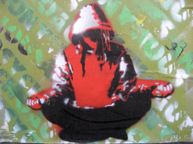 meditation grafiti